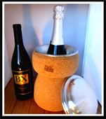 Champagne Cork Shaped Wine Chiller