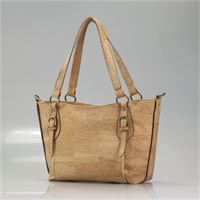 $225 BX Chalice Purse with matching cork detachable shoulder strap